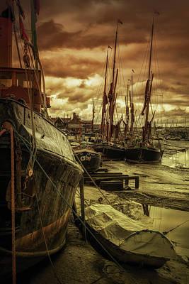 Ships From Essex Maldon Estuary Art Print