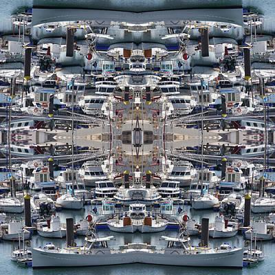 Jonny Jelinek Royalty-Free and Rights-Managed Images - Ships of Ciutadella I by Jonny Jelinek