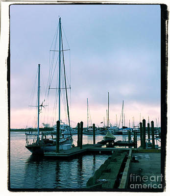 Sean Rights Managed Images - Ships in Brunswick Royalty-Free Image by Katherine W Morse