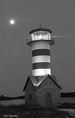 Photograph - Ship's Lamp by Jen Sparks