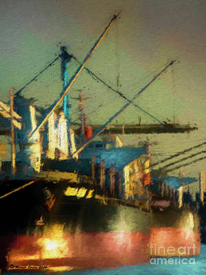 Ships Art Print by Marvin Spates