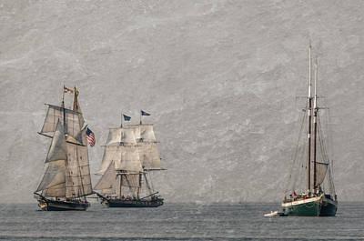 Photograph - Ships Ships Ships by Stewart Helberg