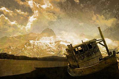 Shipwreck - Reload Art Print by Jeff Burgess