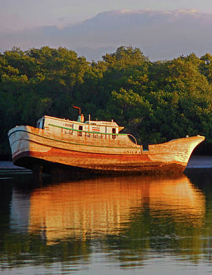 Photograph - Shipwreck 2 by Ron Kandt
