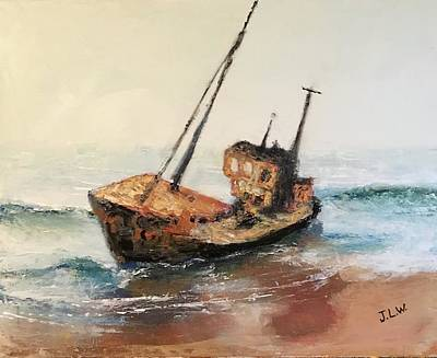 Painting - Shipwreck II by Justin Lee Williams