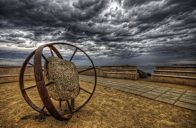 Photograph - Shipwreck Memorial by Wayne Sherriff