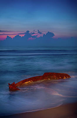 Photograph - Shipwreck On The Outer Banks The End by Dan Carmichael