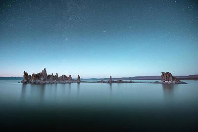Photograph - Shipwreck Tufa Under Stars by Alexander Kunz