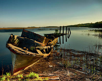 Photograph - Shipwrecked by Kevin Senter