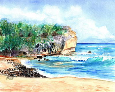 Painting - Shipwreck's Beach 4 by Marionette Taboniar