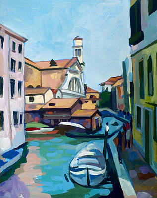 Shipyard In Venice Original