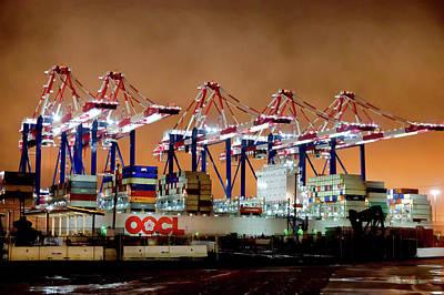 Photograph - Shipyard by Kevin Duke