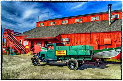 Photograph - Shipyard Work Truck by Dutch Ducharme