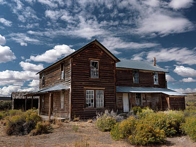 Photograph - Shirk Ranch by Leland D Howard