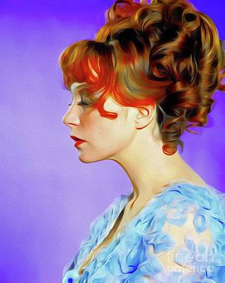 Royalty-Free and Rights-Managed Images - Shirley MacLaine, Hollywood Legend by Esoterica Art Agency