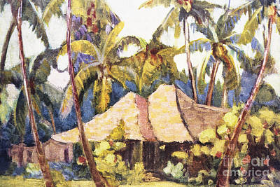 Shirley Painting - Shirley Russell Art by Hawaiian Legacy Archive - Printscapes