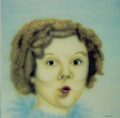 Shirley Temple Painting - Shirley Temple by Lorraine Souza Wilcox