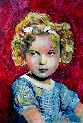 Shirley Temple Painting - Shirley Temple by Marcelo Neira