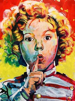 Shirley Temple Painting - Shirley Temple by Tre Taliaferro
