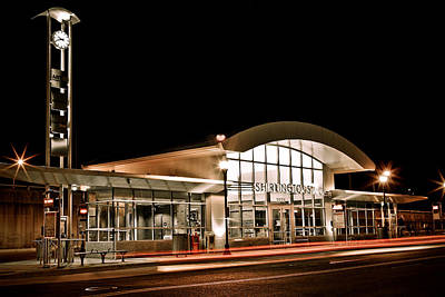 Photograph - Shirlington Station by Julie Niemela