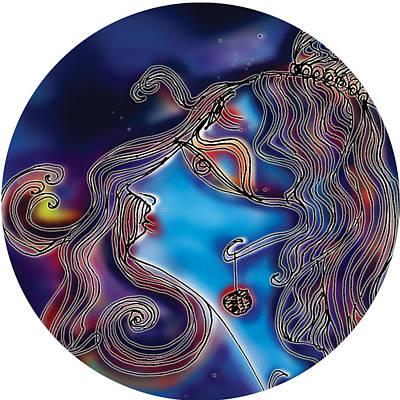 Painting - Shiva  by Guruji Aruneshvar Paris Art Curator Katrin Suter