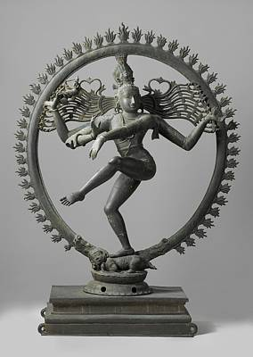 Shiva Sculpture - Shiva by Indian School