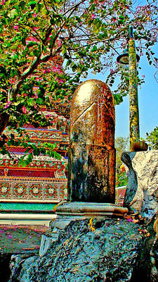 Shiva Linga. Wat Pho. Thailand.  Original by Andy Za