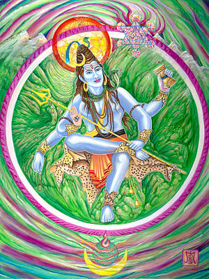 Tantra Painting - Shiva Lord Of The Universe by Imago Dei