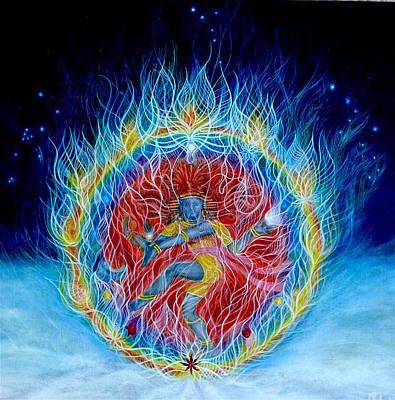 Nataraja Painting - Shiva Nataraja by Adrienne Martino
