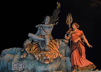 Parvati Photograph - Shiva by Pankaj Sharma