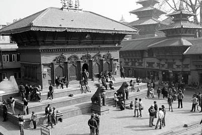 Photograph - Shiva Parvati Temple, Durbar Square, Kathmandu by Aidan Moran