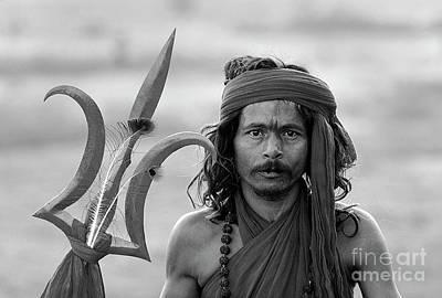 Photograph - Shiva Saddhu - Pushkar India by Craig Lovell