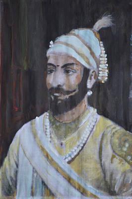 Painting - Shivaji Maharaj by Vikram Singh