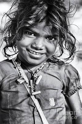 Shivamas Smile Art Print