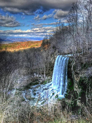 Photograph - Shivering Falls by Don Mercer