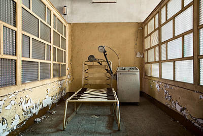 Shock Therapy - Abandoned Mental Institution Art Print