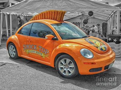 Photograph - Shock Top Beetle by Tony Baca