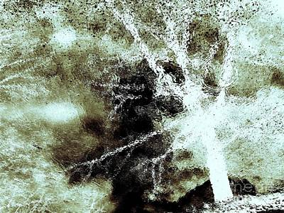 Shockwave Aftermath-abstract Art Print