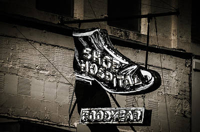 Photograph - Shoe Hospital by Phillip Burrow