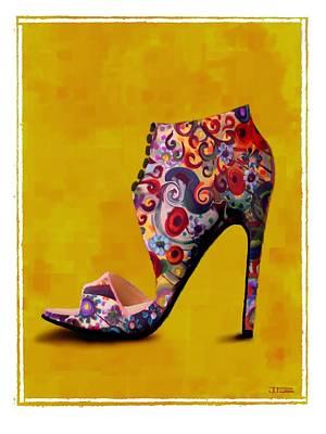 Shoe Illustration 1 Original by Jann Paxton
