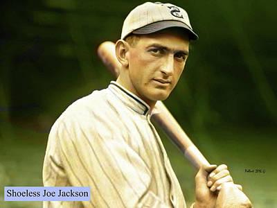 Shoeless Joe Jackson, White Sox Art Print