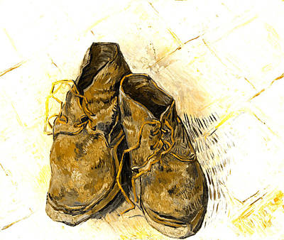 Photograph - Shoes by John Stephens