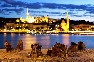 Photograph - Shoes On The Danube Bank by Fabrizio Troiani