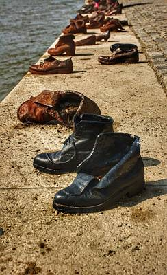 Photograph - Shoes On The Danube I by Kathi Isserman