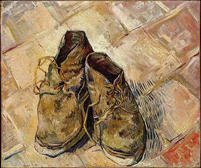 Painting - Shoes Still Life By Vincent Van Gogh                   by Vincent van Gogh