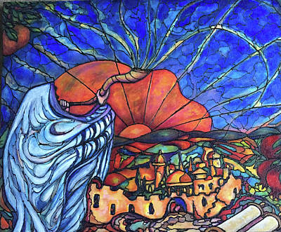 Painting - Shofar by Rae Chichilnitsky