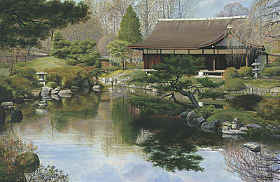 Shofuso - Japanese House And Garden - Philadelphia Original by Ed Ryder