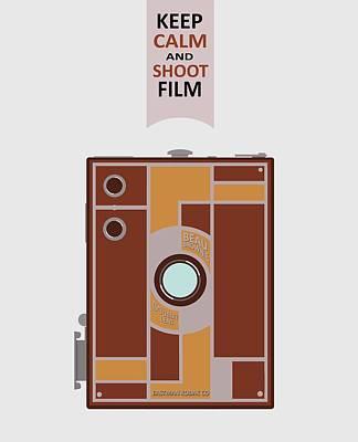 Wall Art - Digital Art - Shoot Film by Mal Bray