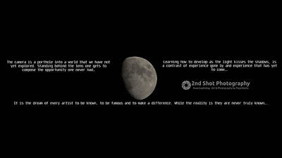 Photograph - Shoot For The Moon by Philip A Swiderski Jr