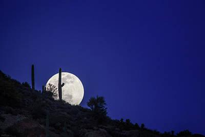 Photograph - Shoot The Moon by Rick Furmanek